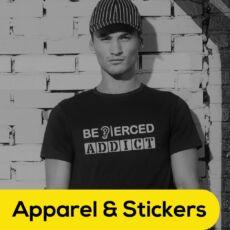 Apparel & Stickers