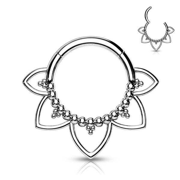 Filigree Mandala Clicker Ring