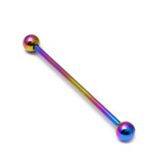Rainbow Coloured Titanium Scaffold/Industrial Bar