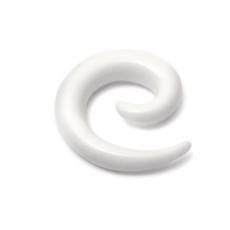 White Acrylic Spiral Stretchers