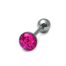 Pink Sparkle Tongue Bar