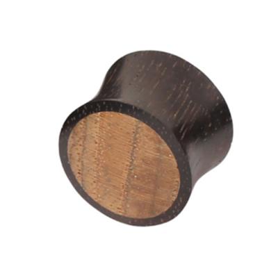 organic wooden two tone plug