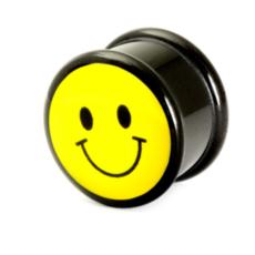 smiley face plug
