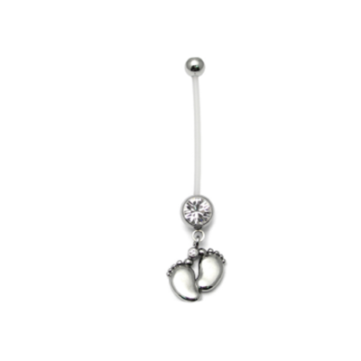 Plastic Pregnancy Belly Bar
