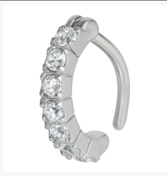 Rook Ring With Gems