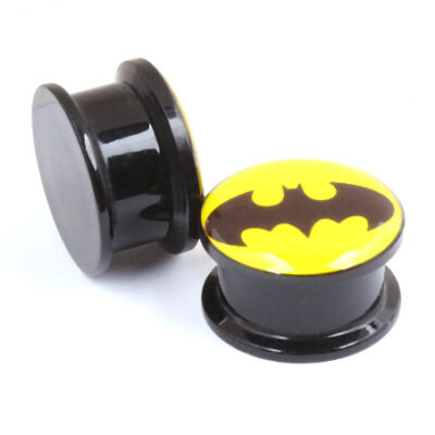 Batman acrylic plug