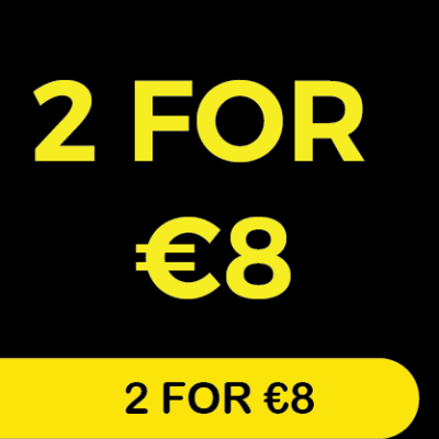 2 for €8