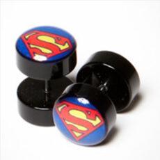 Superman Disc Style Earstud