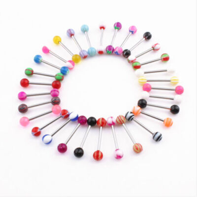 Selection Of five Tongue/Nipple Bars For €5