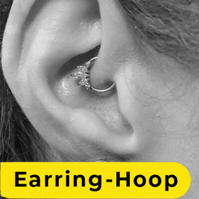 Earring-hoop